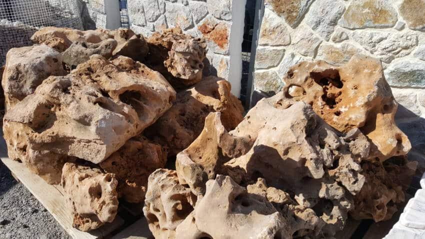 Φυσικά πετρώματα Αλάμαρας Γιάννης, πέτρες Καρύστου