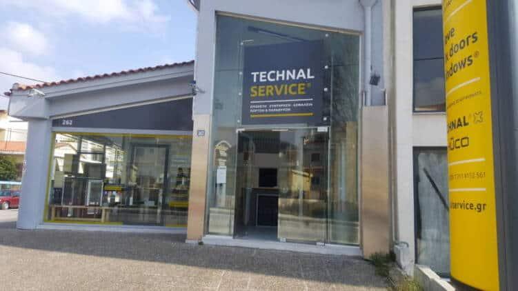 Επισκευή κουφωμάτων, ασφάλειες παραθύρων, Technalservice