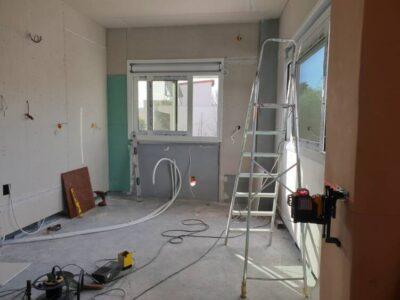 Οικοδομικές εργασίες, ανακαινίσεις